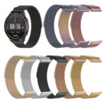 New              Bakeey 22mm Universal Milan Stainless Steel Band for Haylou Solar Xiaomi Watch Color Huawei GT Amazfit GTR