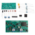 New              Sine Wave to Square Wave Circuit Kit Electronic Welding Training DIY Parts