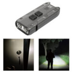 New              NITECORE TIP SE 700LM OSRAM P8 Dual Light LED Keychain Flashlight Type-C Rechargeable QC Every Day Carry Mini Torch