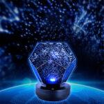 New              Stars Starry Sky Projector Night Light USB Romantic Dreamlike Planetarium Lamp