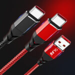 New              OLAF 5A Data Cable USB Type-C Fast Charging For Huawei P30 P40 Pro Xiaomi Mi10 OnePlus 8Pro