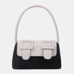 New              Women Contrast Color Fashion Cute Creative Tote Handbag Shoulder Bag