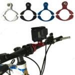 New              BIKIGHT 1PCS Bicycle Aluminum Handlebar Bar Clamp Mount for Gopro Hero 3+ Camera Bike Camera Clip Holder
