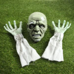 New              Halloween Scary Skeleton Skeleton Three Piece Ornaments And Props Haunted House Bar Secret Room Decoration