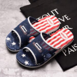 New              Men Hollow Comfy Soft Sole Slide Sandals Home Casual Slippers