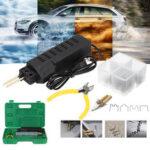 New              110V Hot Stapler Car Bumper Plastic Welding Torch Tool Machine with 200 Staples