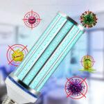 New              60W UV Germicidal Lamp LED UVC Bulb E27 Household Disinfection Sterilizing Light
