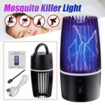 New              DC5V 5W Electric Fly Bug Zapper Mosquito Light Insect Killer LED Trap Pest Control Night Lamp