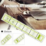 New              30 x 5cm Acrylic Patchwork Sewing Ruler Fabric Tailor Craft DIY Measuring Tool