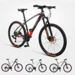 New              [ From Xiaomi Youpin ] FLYING PIGEON 26″ 27 Speeds Mountain Bike Double Oil Disc Brake Shock Absorption  BMX Off-Road Bike