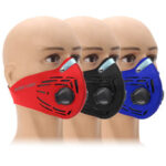 New              Activated Carbon Air Filter Dustproof Mask Half Face Cycling Sport Training Mask Outdoor Mask