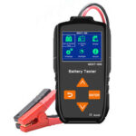New              MDXT-600 12V 24 V Color LCD Display 7 Languages Battery Tester Charging Diagnostic Tool CE RoHS Certification Car Motorcycle Sysetem Test