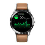 New              Bakeey S1 bluetooth Phone Call Heart Rate Blood Pressure Oxygen Monitor Weather Display Music Contorl Smart Watch