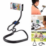 New              Bakeey Multifunctional 360° Degree Rotating Flexible Long Arm Neckband Lazy Tablet Mobile Phone Holder Stand for 4-10 inch Devices for iPad For Iphone Xiaomi Tablet