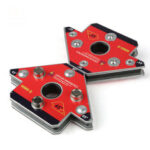New              2Pcs Pack Arrow Magnetic Welding Clamp NdFeB Magnet Welding Holder for Three-dimensional Welding Small Size