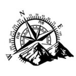 New              Hood Body Sticker Decal Large Compass Navigation For Camper Van Motorhome Car Boat 60x50cm