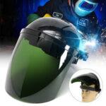 New              Pro Solar Powered Auto Darkening Welding Helmet Arc Grinding Mask Green