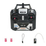 New              JJRC JJPRO EM-16 2.4GHz 6CH AFHDS 2A Mode 2 RC Transmitter with Receiver Support P175 for RC Drone