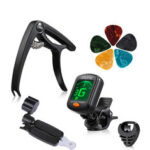 New              9/50PCS Guitar Accessories Kit Including Guitar Picks,Capo,Acoustic Guitar Strings,3 in 1String Winder