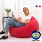 New              Large Pouf Lazy Sofas Lounger Couch Living Room Furniture Beanbag Tatami