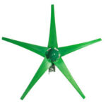 New              12V/24V 5 Blades 1800W Peak Green Horizontal Power Wind Turbine Generator With Charge Controller