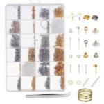 New              Necklace Bracelet Earrings Set Jewelry DIY Making Kit Handmade Jewelry Making