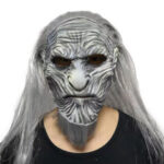 New              Halloween Scary Night King Zombie Latex Masks Party Costume Props Cosplay The White Walkers Mask