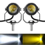New              2PCS Motorcycle Spot Light LED Driving Headlight Fog Driving Lamp White Waterproof