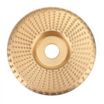New              100mm Grinding Wheel Carbide Wood Sanding Carving Shaping Disc For Angle Grinder