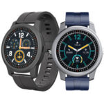 New              [bluetooth 5.0]ELEPHONE R8 1.3 inch 360*360 HD Resolution Full Touch Screen Heart Rate Blood Pressure Oxygen Monitor Weather Display Smart Watch