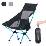 New              Naturehike Lightweight Camping Chair Folding Portable Fishing Backrest Chair For Outdoor Camping Beach Hiking