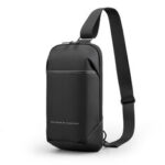 New              Kingsons Anti-theft Crossbody Bag with USB Charging Port Waterproof Chest Pack Sling Bag Shoulder Chest Bag