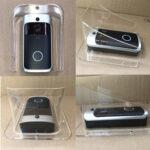 New              Rain Cover Type Wifi Doorbell Camera Waterproof Cover for Smart IP Video Intercom WI-FI Video Door Phone Door Bell cam