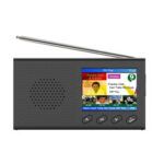New              2.4″ Portable DAB/DAB+Digital Radio FM Receiver Speaker Bluetooth 5.0 Alarm Clock