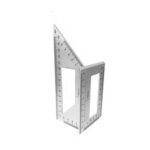 New              Multifunctional 45/90 Degree Square Angle Ruler Gauge Measuring Woodworking Tool