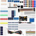 New              Geekcreit DIY Electronics Basic Starter Kit Breadboard Jumper Wires Resistors Buzzer for UNO R3 Mega2560