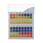 New              100PCS/Box PH Test Strips Precision Four-color Comparison 0-14 PH Measuring Drinking Water Quality Strips