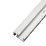 New              Aluminum Alloy 45 Type T-slot T-track Miter Track Jig Fixture Slot 45×12.8mm For Table Saw Router Table Woodworking Tool