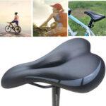 New              Soft Bike Saddle Mountain MTB Gel Comfort Bicycle Saddle Cycling Seat Cushion Outdoor Biking